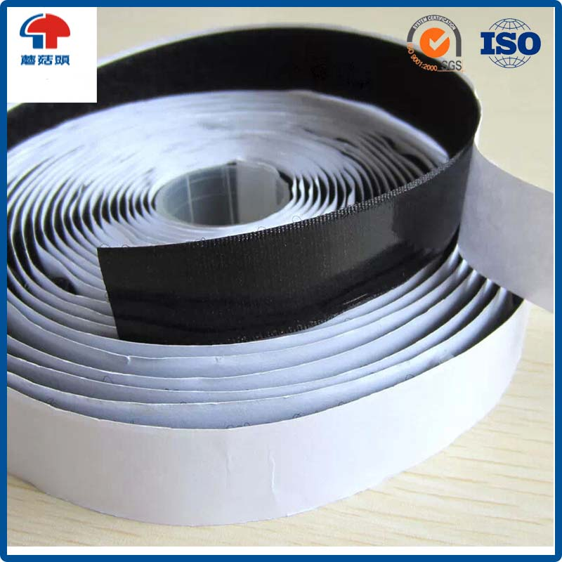 Strong sticky self- adhesive hook and loop fastener tape / hook and loop with back glue