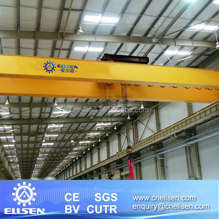 New model European QDX double girder overhead crane low clearance