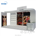 Detian offer comestic fair trade show booth portable booth exhibition booth