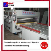 high-speed paper board multi-color flexo printing slotting die cutting machine