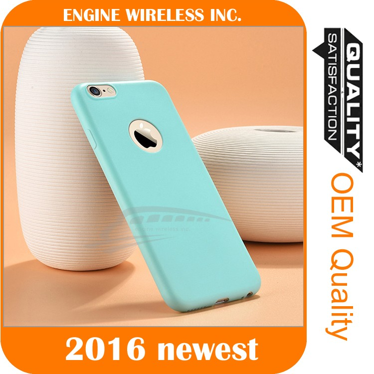 Luxury Original Silicone Cover Ultra-Thin Phone Case for iphone 6s silicone case