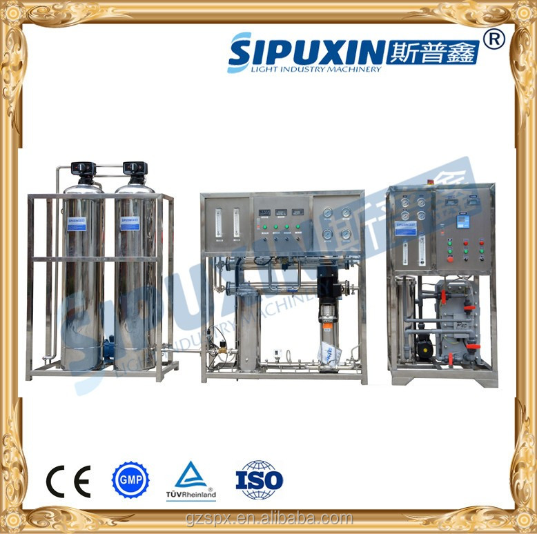 SIPUXIN sanitation grade SUS RO water filter with EDI for distilled water
