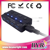 2014 new promotion gift! 4 port usb 3.0 switch hub