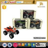 Die cast 4 wheel motorcycle