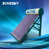 High quality competitive price compact unpressurized vacuum tubes solar energy water heater