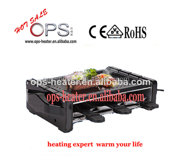 OPS-9096B electric flat grill