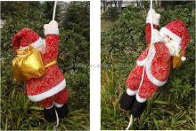 2014 best selling cute climbing santa claus
