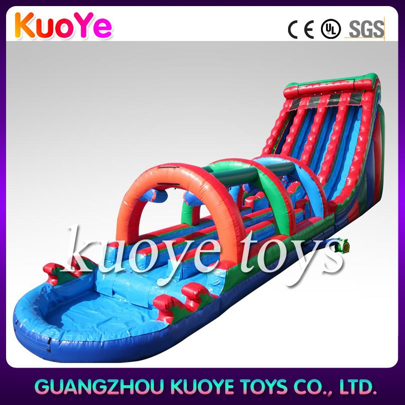inflatable giant water slide for adults,inflatable long slip and slide,commercial water slides games