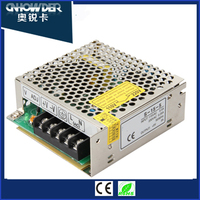 Factory price AC 220V to DC 12v 15w Electronic LED Driver S-15-12 15w 12v led mobile switching power supply with CE ROHS