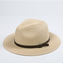 New product of hats crochet multicolor solid color panama straw hat