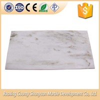 Nice White Marble Cutting Board Indoor And Outdoor Floor Tiles
