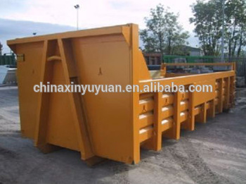 15m Qingdao roll off dumpster hook lift bin