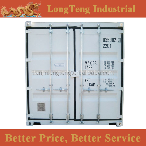 New 20 gp Shipping Container Price Europe from China