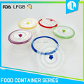 Portable colorful new silicone frozen food container