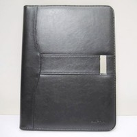 waterproof leather file leather executive bag a4 leather folder organizer folder