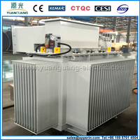 Three phase copper winding wound core low loss 35kv transformer factory