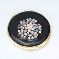 HOMEQI Sexy metal pocket mirror Decorative make up small mirror HQCM290006-30