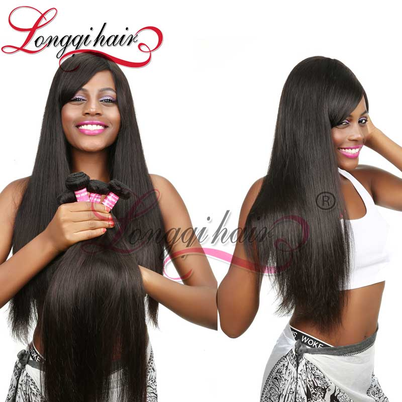 Xuchang Factory Wholesale Indian Hair Weave High Quality Useful Hair Weave Longqi Beauty Hair Products