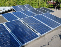 TUV CE Approved Rooftop/Ground Mounting 20kw solar panel system,solar system for home(Factory) generator 2000W