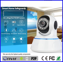 Two Way Audio 720P Email Alert Support Android/ISO wifi h6837wi ipcam ptz wireless ip camera BS-IP24