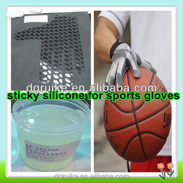 SOLLYD silicone screen printing ink for ball games gloves