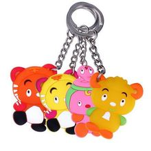 fashion design fashionable silicone custom sound effect keychain