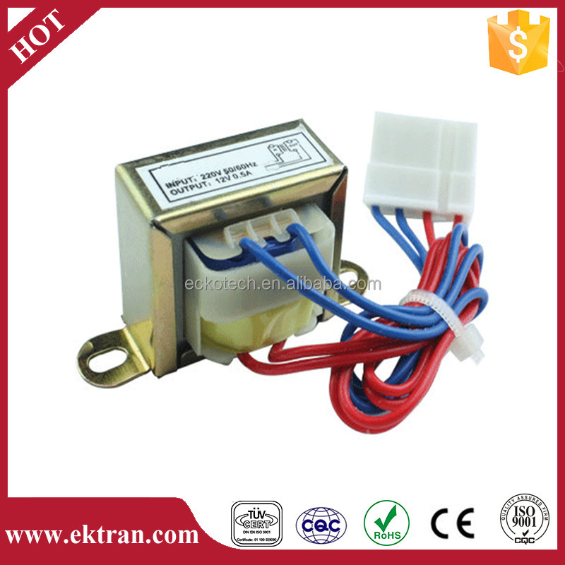 EI type low frequency 220v 12v power electric transformer