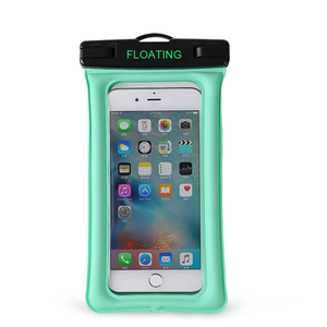 Custom Universal Floating Clear PVC Mobile Cell Phone Waterproof Pouch with Lanyard