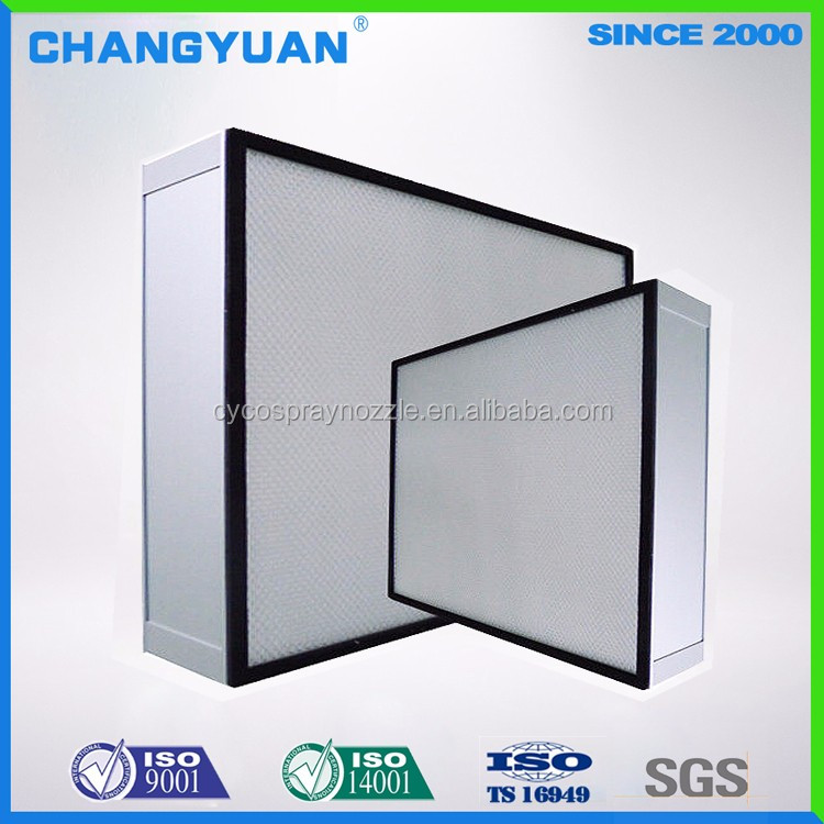 2017 clean room product, window air filter, hepa filter for pharmaceutical