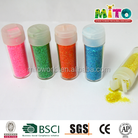 MTJF-1012PX2 10G colorful glitter powder shaker tube