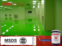 High performance self-leveling epoxy resin flooring
