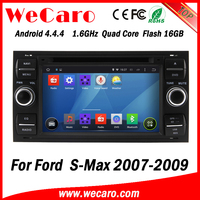 Wecaro WC-FU7016 Android 4.4.4 dvd player HD for ford s-max car gps navigation 2007 2008 2009 USB SD
