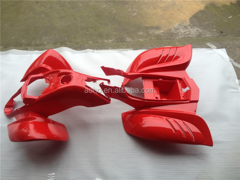 Kazuma 110cc plastic body for Falcon Shark 150cc 250cc ATV quad fairings