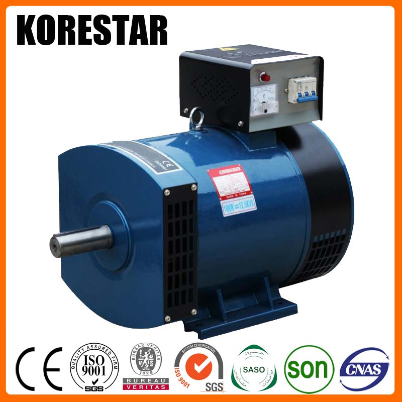 Korestar 1kw 1kva 10kw low rpm alternator