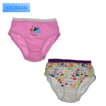 Hot sale girl customized kids underwear panties