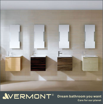 melamine bathroom cabinet with mirror