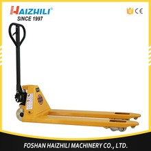 Safety manual pallet jack, newly hand pallet jack capacity ,manual pallet jack operation
