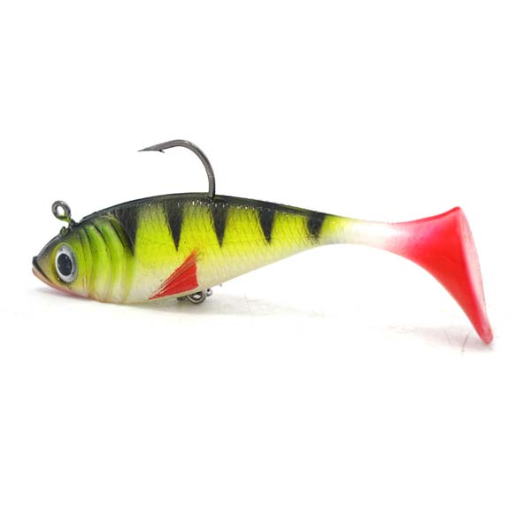 Kmucutie fishing tackle fishing lure pre-rigged swim shad soft bait plastic fish lures