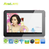 cheap 9 inch tablet dual camera allwinner a13 android 4.0 mini pc 1.2ghz 8gb MV90