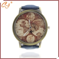 In 2015 the new fashion for men and women all appropriate cortex watches like flowers and as a printed map watches