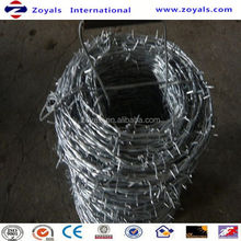 ISO9001:2008 Good Quality 14 Gauge Galvanized Barbed Wire Tape