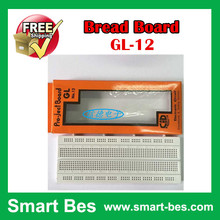 ~Smart Bes! Free shipping 30pcs/lot Can be combined together 840 hole bread board GL-12 175*67*8mm good quality peg board univer