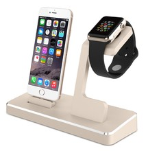 MFI Multi port Charging Stand Dock,Phone Stand Dock Replacement USB Charging Cable Cradle Dock