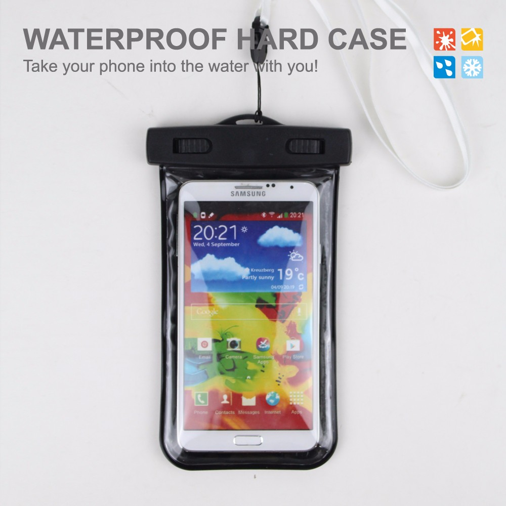 Arm Band Pvc Waterproof Cell Phone Case For Sony Z2/Z3 Songkran Equipment