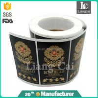 premium quality white matt PP synthetic paper sticker, custom blank self adhesive labels in roll