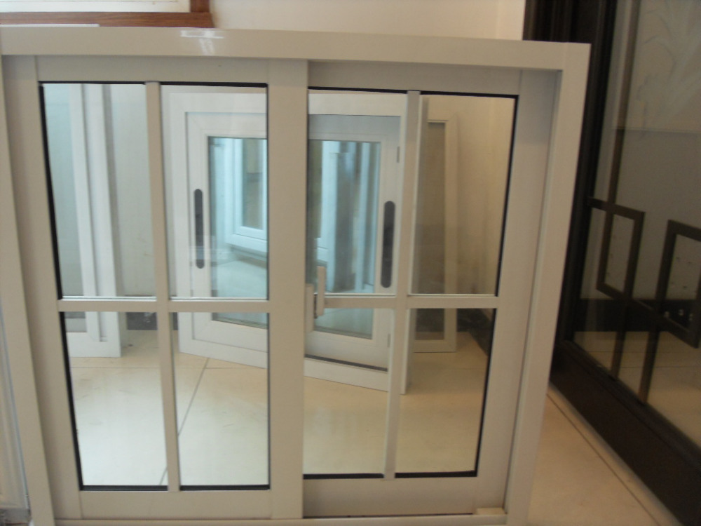 2016 latest window grill design--aluminum sliding windows from china supplier