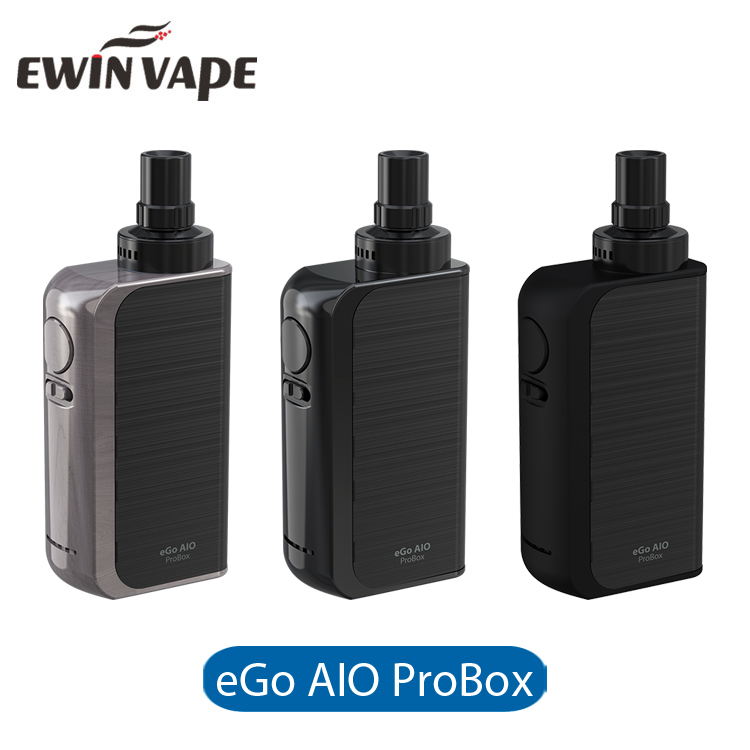 100% Original All In One Vaporizer 2100mAh 2ml Joyetech eGo AIO ProBox Kit