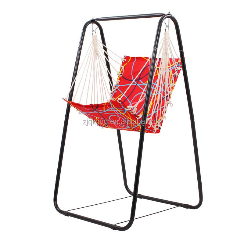 Foldable camping leisure hanging chair garden chair HF-08-3