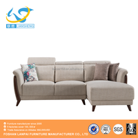 Scandivanian style elegant and durable modern design corner Sofa