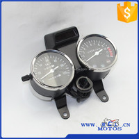 SCL-2012030418 GN125/LEON Motorcycle Speedometer High Quality Motorcycle Speedometer